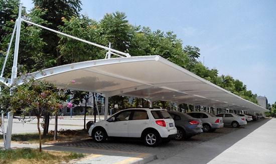 你了解吗?膜结构车棚的优势在哪?